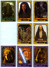 Topps Star Wars Galactic Files 2 - 8 Blue Parallel Cards Characters Padme C-3P0