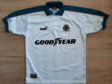 WOLVERHAMPTON! 1997-99! shirt jersey trikot camiseta maglia kit! 5/6 ! M adult@