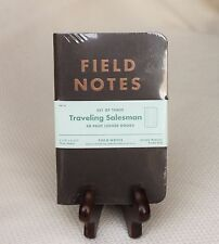 Field Notes Traveling Salesman Edition (Fall 2012) Sealed Notebook 3-Pack