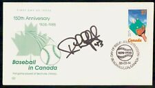 MayfairStamps Canada Fdc 1988 150th Anniversary Baseball Signed First Day Cover