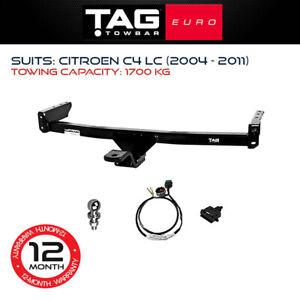 TAG Euro Towbar Fits Citroen C4 2004 - 2011 1700Kg Towing Capacity 4x4 Exterior