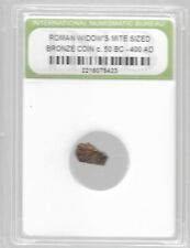 New ListingRare Very Old Ancient Antique Widows Mite Roman Empire Era Jesus Bible Coin 496