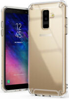 For Samsung Galaxy A6 Plus 2018 | Ringke [FUSION] Clear PC Back Shockproof Case