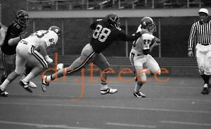 1972 Dan Dickel IOWA HAWKEYES - 35mm Football Negative