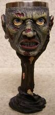 Wine Champagne Goblet Ghoul Face Halloween 6 oz pour NEW Stainless Steel insert