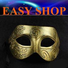 Men Women Lady Costume Masquerade Gold Party Mask Venetian Ball Roman Eye Fancy