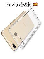 Funda 100% Transparente Gel Flexible iPhone 7 Plus/8 Plus