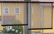 Scheibengardinen 2 x Breite 56 cm x Höhe 51/61 cm- neu - modern Gardine Paneel