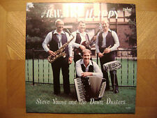 BRIGHT LP RECORD/ STEVE YOUNG DAWN DUSTERS/ ALWAYS HAPPY/NR MINT VINYL/WISCONSIN