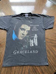 Vintage Elvis Presley Graceland T Shirt.