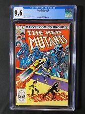 New Mutants #2 CGC 9.6 (1983)
