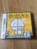 Brain Age Nintendo DS NDS Cib Fun Game XP2