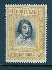 Portugal #436 1927 4.50e Joao Pinto Ribeiro Unused OG LH Cats $22.50