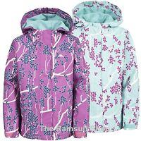 TRESPASS GIRLS WATERPROOF IMOGENE HOODED RAIN JACKET COAT KIDS CHILDS 3-12yrs