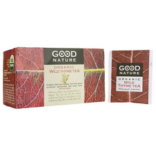Good Nature Wild Thyme Organic Tea 20 Bag(S)