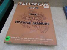 Honda Civic Used Service Manual VP 1979  VP-CM361