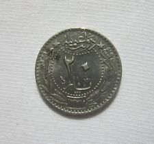 OTTOMAN TURKEY. 20 PARA, 1913. MUHAMMAD V. 1909-1918, YEAR 5.