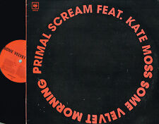 """PRIMAL SCREAM ft KATE MOSS Some Velvet Morning 12"""" Vinyl PROMO Columbia XPR3730"""