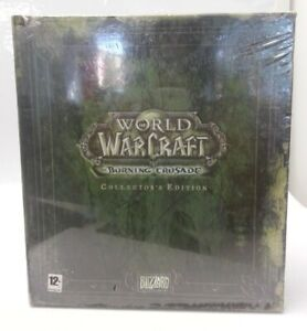 World of Warcraft The Burning Crusade Collector's Edition PC Game New and Sealed