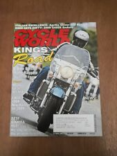 Cycle World Motorcycle Magazine October 2008 - 2009 Harleys - Aprilia Shiver 750