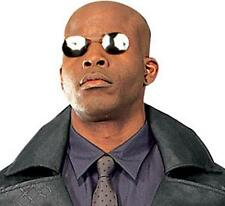 Morpheus The Matrix Sunglasses Laurence Fishburne Costume Glasses No Temples