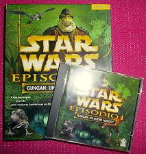"""""""STAR WARS. EPISODIO I. GUNGAN: UN NUEVO MUNDO"""" - Videojuego PC Windows 95/98"""