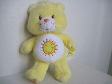"Care Bears FUNSHINE BEAR TALKING 13"" Plush Stuffed Animal"