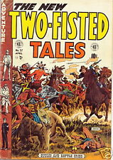 TWO-FISTED TALES TALES 37 V.GOOD-  EC / SEVERIN ART.