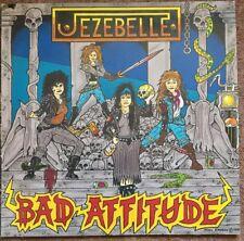 Jezebelle Bad Attitude Vinyl LP. Buy 5 LPs For £3.99 Post (UK) [ Girl Metal ]