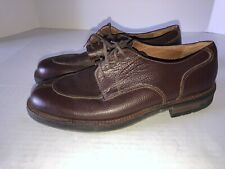 WOLVERINE Mens Brown Oxford Leather Shoes Men's Size 9.5