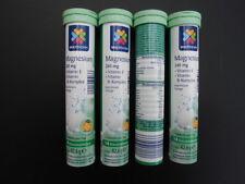 Multinorm Brausetabletten Magnesium Vitamin E und B Geschmack Orange 4 x 14 Stck