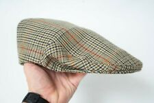 Barbour Wool Сell Flat Cap Beige Hat XL 62 CM