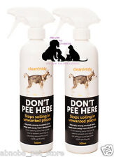 Don't Pee Here Spray Discourages Dog Cat Soiling | Urinating in Unwanted Places