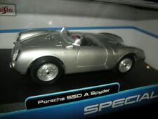 1:18 Maisto Special Edition Porsche 550 A Spyder in OVP
