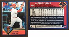 New listing 2011 Topps 60 Years Of Topps Original Back Albert Pujols #60YOT-111 2003 Topps