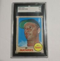1968 Topps #500 Ed Mathews SGC 7.5