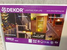 DEKOR RECESSED LED LIGHT SOFFIT FLOOD LIGHT