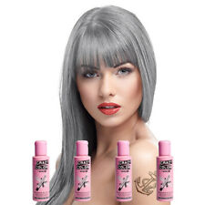 Crazy Color 4 Pack Platinum Semi-Permanent Hair Dye 100ml