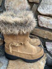 Sorel Northern Lite Tall Boots 1431- 259  8M/39 Leather Boho Retro  Winter  ECU