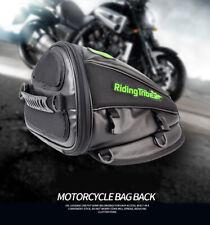 Motorcycle Motorbike Rucksack Casual Cycle Waterproof Backpack Luggage Tail Bag