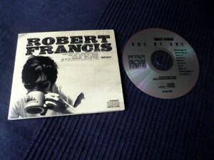 CD Robert Francis - One By One | 10 Songs 2007 Singer Songwriter USA