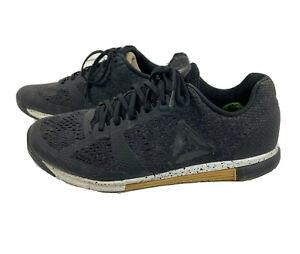 Reebok Crossfit Speed TR 2 Training Shoes Running Black Grey BS8314 Mens Size 10