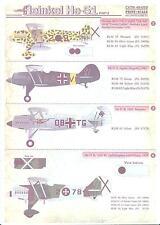 Print Scale Decals 1/48 HEINKEL He-51 German Fighter Part 2