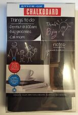 Stick On Chalkboard Create Your Own Chalkboard Surface Anywhere 4 Sheets & Chalk