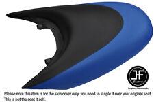 BLACK & ROYAL BLUE CUSTOM FOR SEADOO 02-06 GTX DI 4-TEC REAR VINYL SEAT COVER