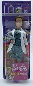 Bambola Barbie You Can Be Anthing Pet Vet Veterinaria Mattel 2019 Sigillata New