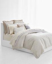 RALPH LAUREN Alene KING 3-PC Comforter Set Reversible FLORAL Metallic Jacquard