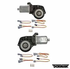 For Lincoln Ford Mercury Set of 2 Power Window Motors Dorman 742-250/742-251