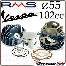 GRUPPO TERMICO MODIFICA CILINDRO PISTONE D.55 102cc RMS PER VESPA 50 PK XL RUSH