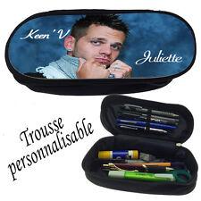 Trousse à crayons KEEN 'V  personnalisée avec prénom V3